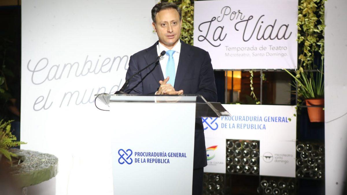 Procurador Jean Rodríguez apertura microteatros