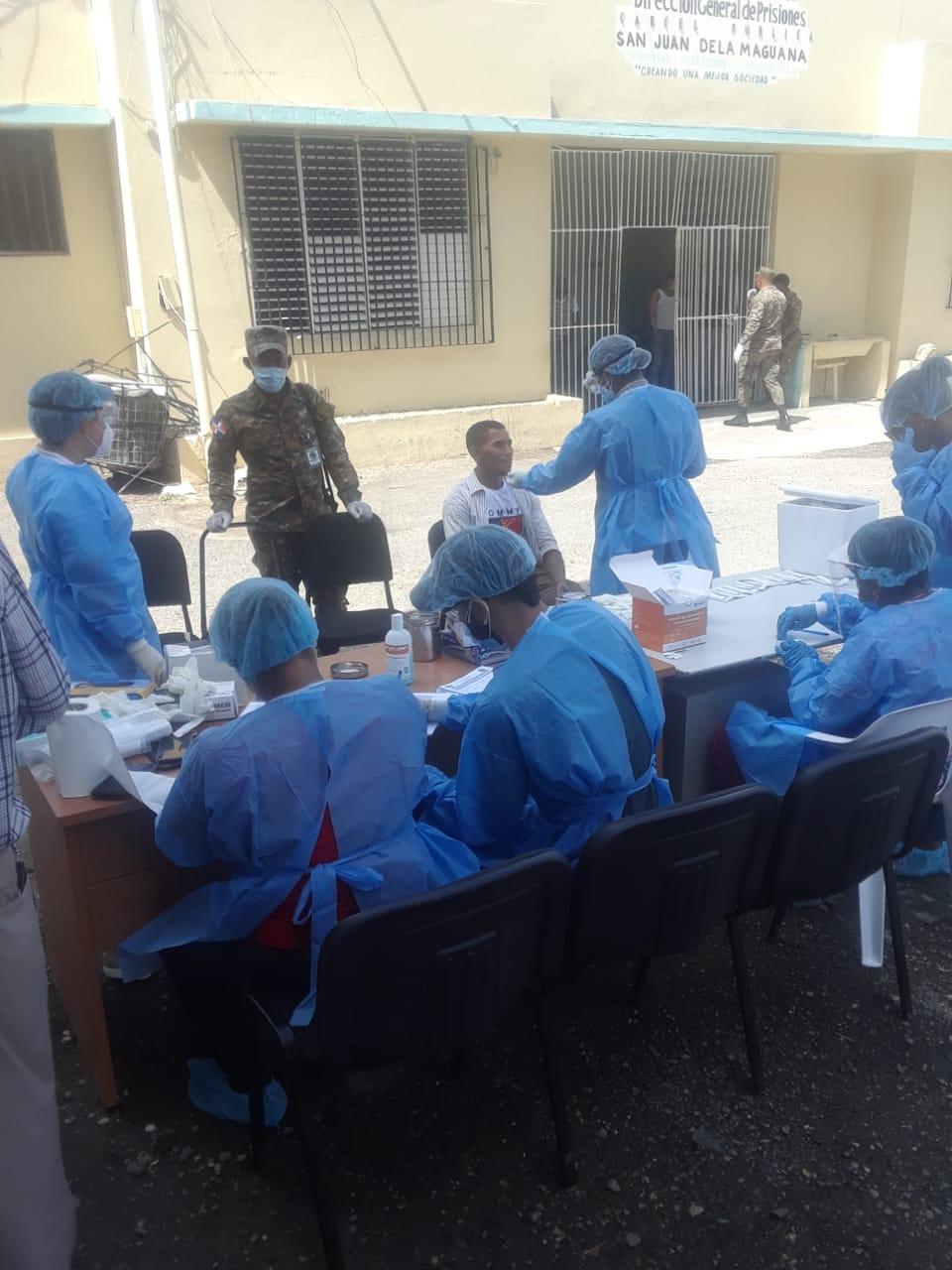 Procuraduría aplica 171 pruebas para detección COVID-19 a internos cárcel  pública de San Juan | Procuraduría General de la República Dominicana