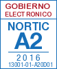 Sello de certificación de la A2:2013 con el NIU 16007-03-A20D01