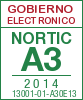 Sello de certificaci�n de la A3:2014 con el NIU 13001-01-A30E13