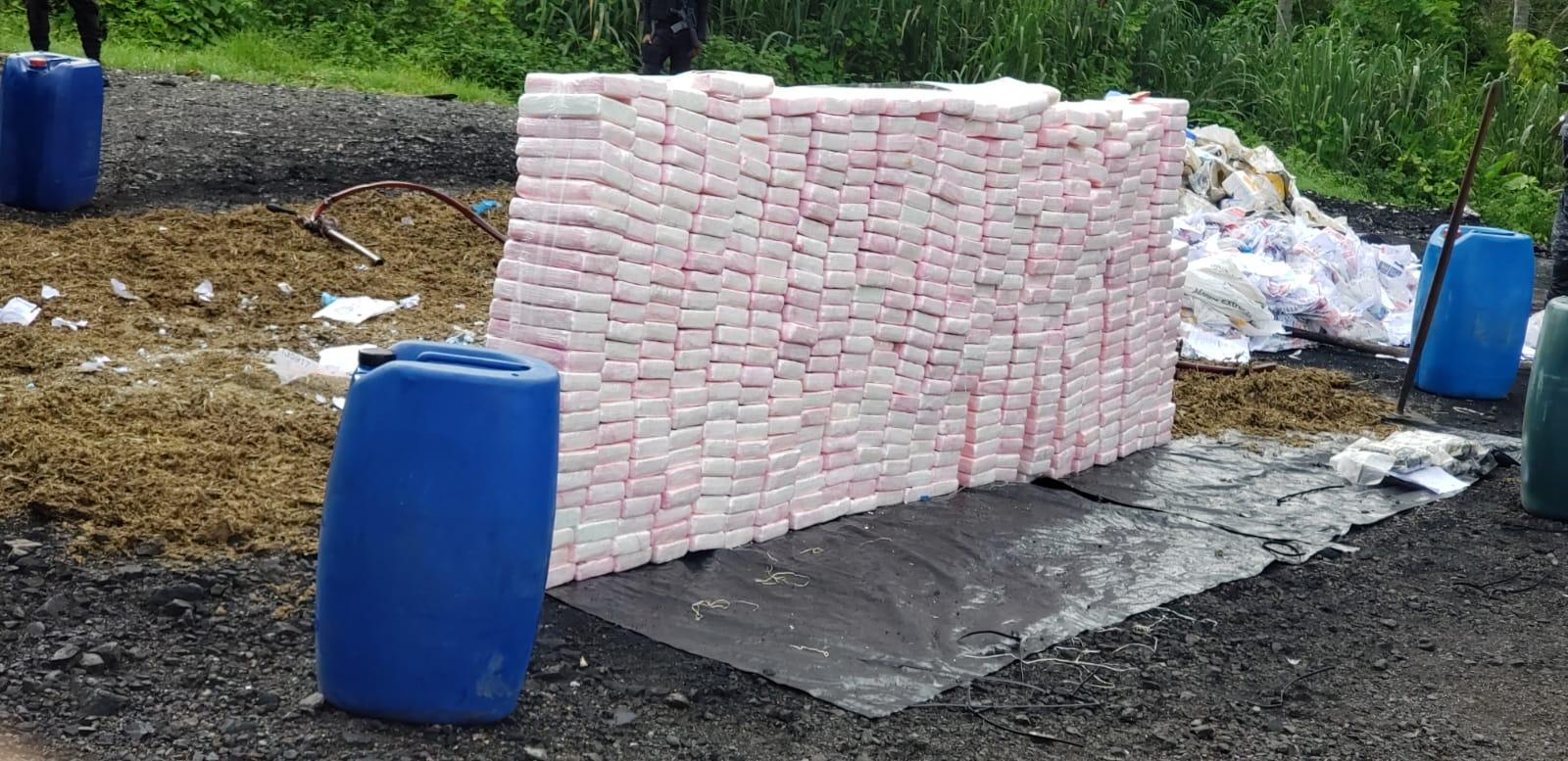 La Procuraduría General incinera 848 kilogramos de drogas en cumplimiento de la ley