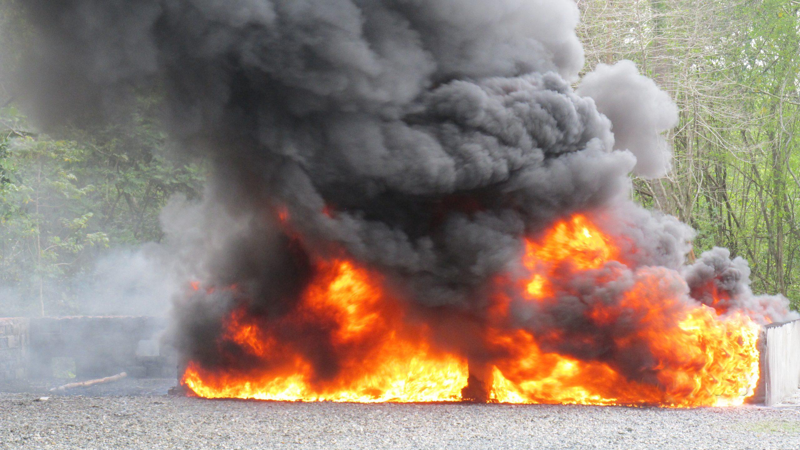 La Procuraduría General incinera 249 kilogramos de drogas ocupadas en distintos lugares del país