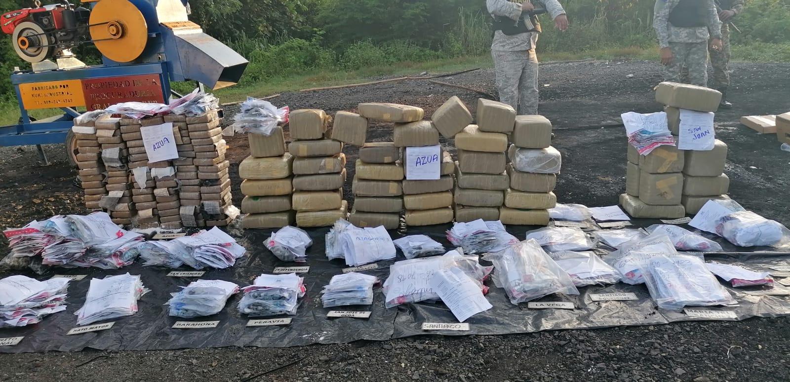 Autoridades queman otros233 kilogramos de drogas
